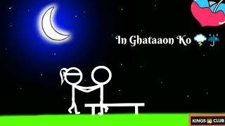 Nice status Tum Jo Kehdo to Chand Taron Ko Tod launga main