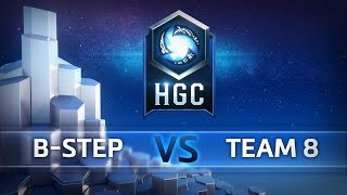 hgc na phase 1 game 1 b step vs team 8