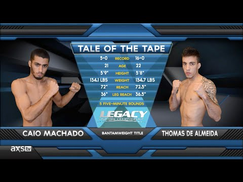 Fight Of The Week: Thomas Almeida With The Perfect Livershot At Legacy 32