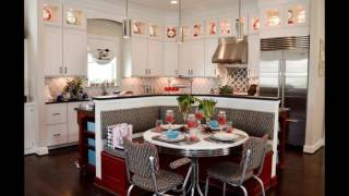 Furniture _ The Wonderful Booth Style Kitchen Table - kitchenious