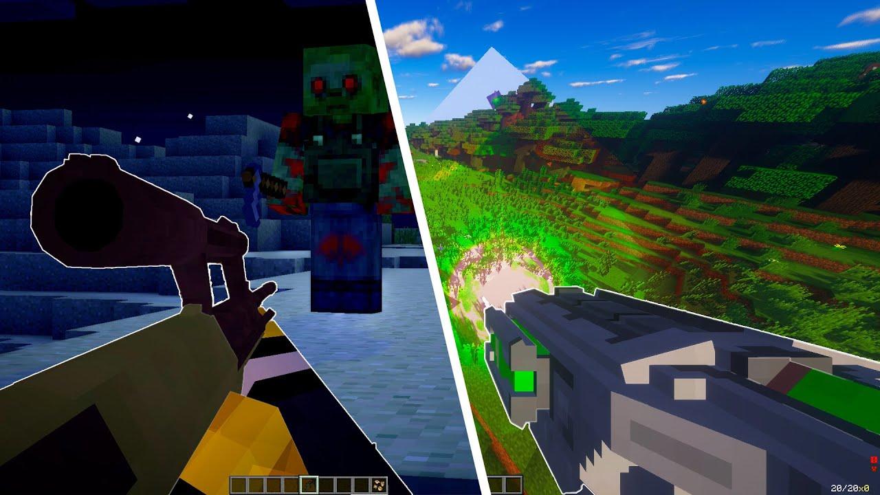 5 Mods De Armas Para Minecraft Zonacraft Youtube