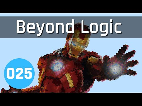 Beyond Logic #25: Iron Man (Part 2) | Minecraft