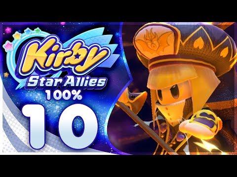 ZAN PARTIZANNE?! Kirby Star Allies - 100% Walkthrough: Jambastion | Part 10!
