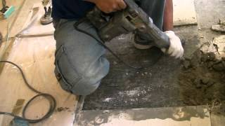 舊屋翻新全紀錄●修補拋光石英磚工程