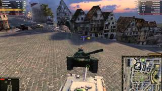 World of Tanks - Aufs. Panther rams WZ-132