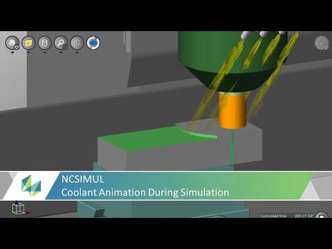 Coolant Animation During Simulation in NCSIMUL | Tutorial
