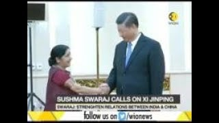MEA Sushma Swaraj: Indian and Chinese should learn each other's language