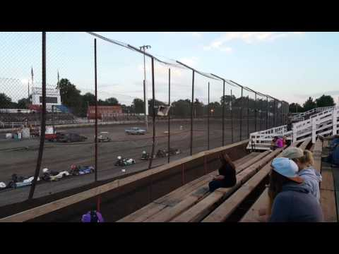 2016 Jr Pro Purple Hoosier race at Macon Speedway