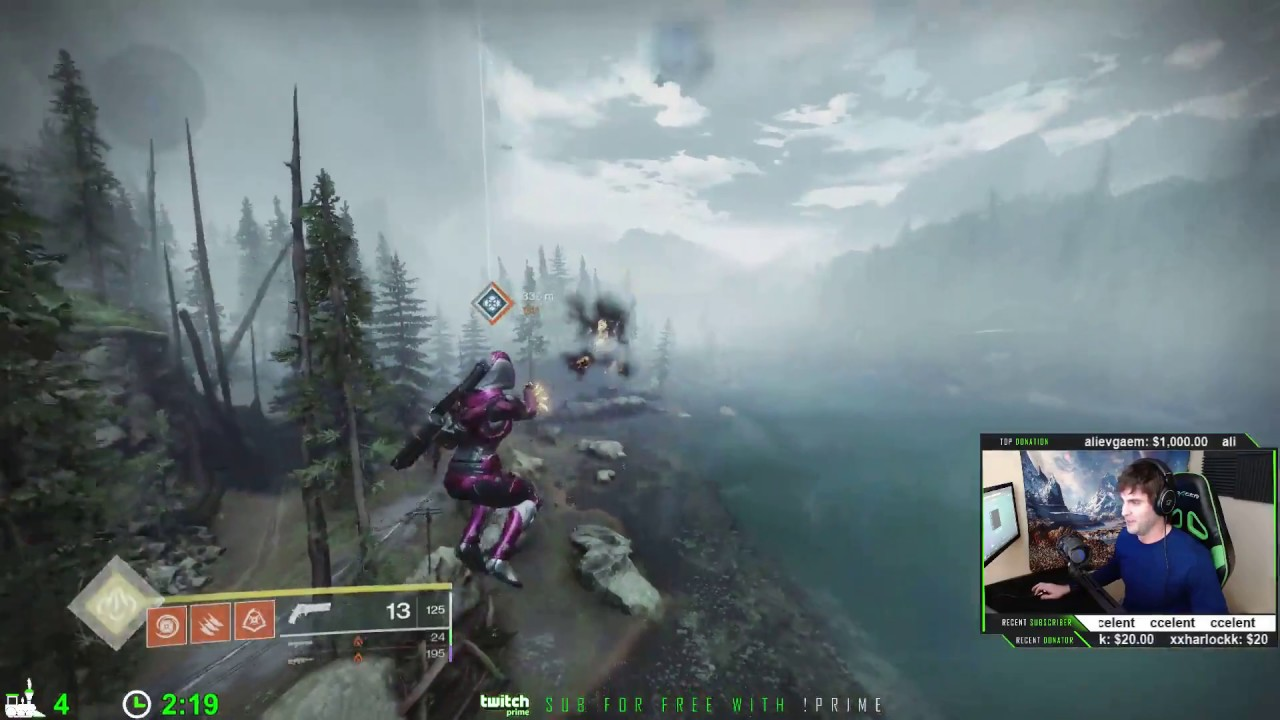 Destiny 2 Trick Lets Hunters Literally Fly Through the Air