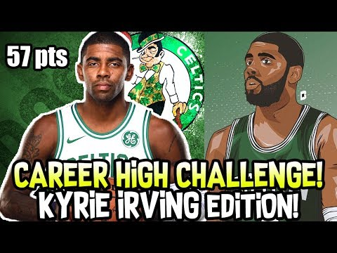 CAREER HIGH CHALLENGE! KYRIE IRVING EDITION! CAN YOU COMPLETE IT? NBA 2K18
