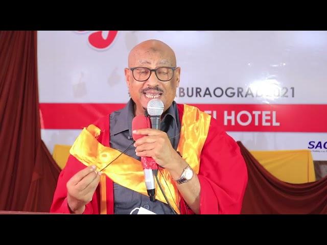 Khudbadii Guddoomiye Faysal Ee Jaamacadda Alpha, Faraceeda Burco.