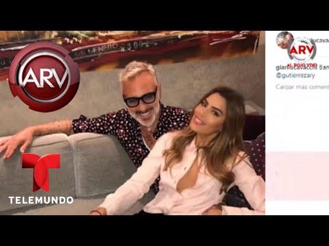 La foto de Ariadna Guti�rrez y Gianluca Vacchi que est� provocando burlas | Al Rojo Vivo | Telemundo