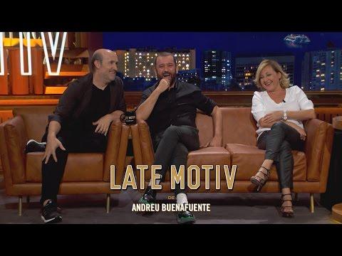 LATE MOTIV  Carmen Machi, Javier Cámara y Félix Sabroso  LateMotiv117