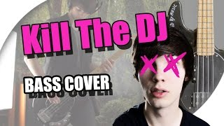 green day   kill the dj bass cover with lyrics