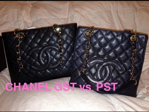 7570aed47ced Chanel PST vs. GST Comparison (Petite Shopping Tote   Grand Shopping Tote)