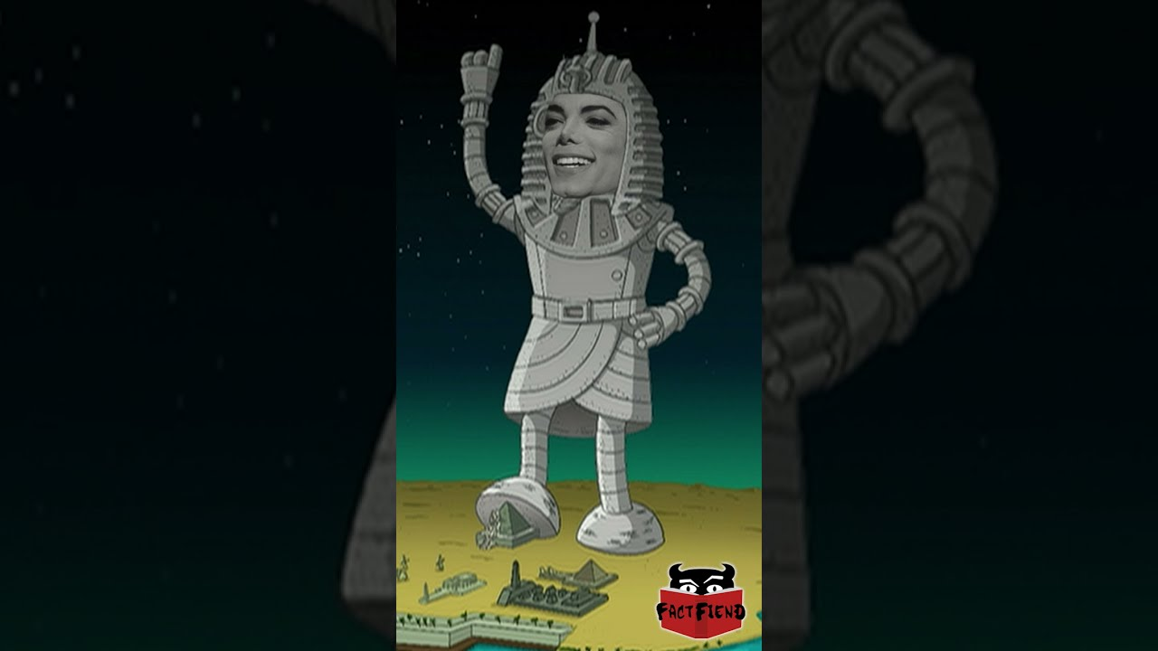The Giant Michael Jackson Robot | Fact Fiend #shorts