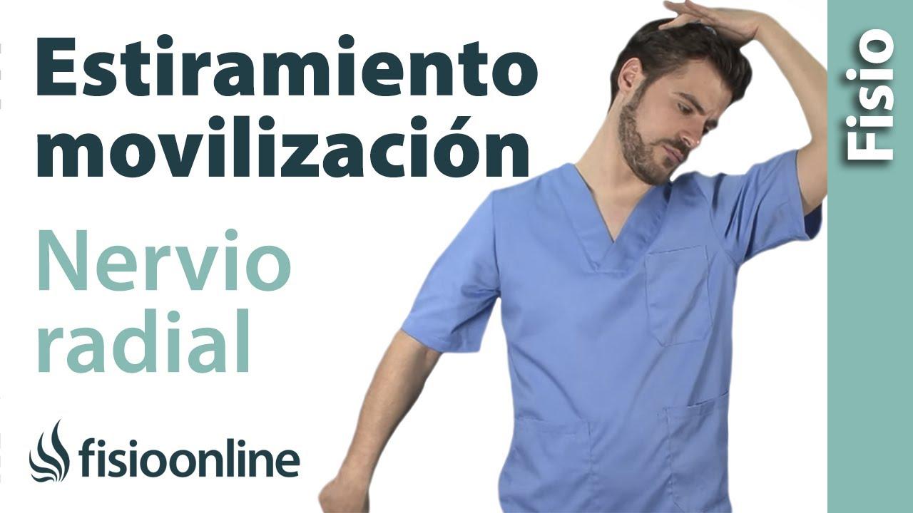 Estiramiento y movilización del nervio radial - YouTube