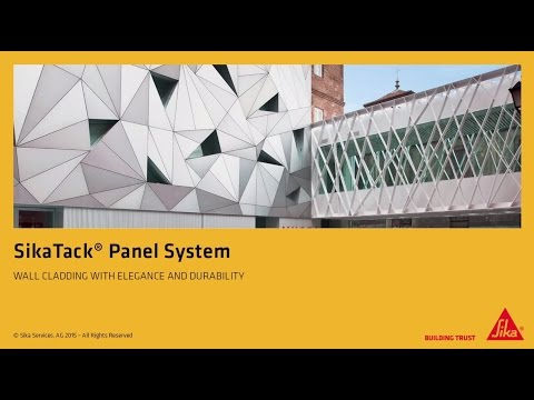 SikaTack® Panel System