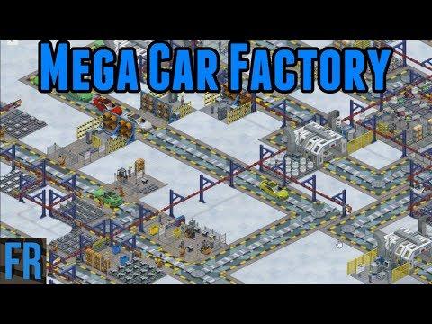 FailRace Industries Mega Car Factory (Live Stream)