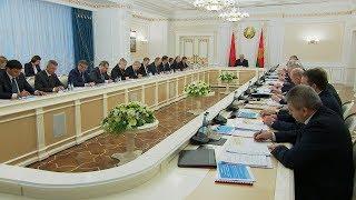 Лукашенко: прогноз социально-экономического развития на 2018 год должен быть реалистичным
