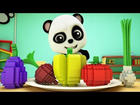 Learn Vegetables   Preschool Learning Videos   Kids Learning Song