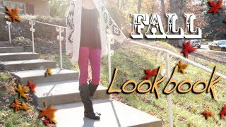 ♡ Fall Fashion Look Book | (FIRST ONE EVER!) ♡