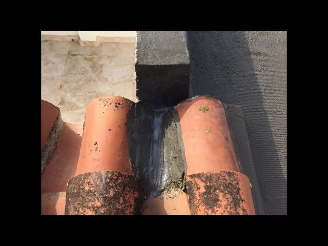 Damp proofing / Flachdach-Versiegelung