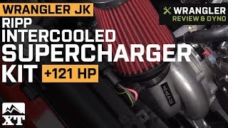 Jeep Wrangler JK RIPP Intercooled Supercharger Kit (2015-2017) Review &amp Dyno