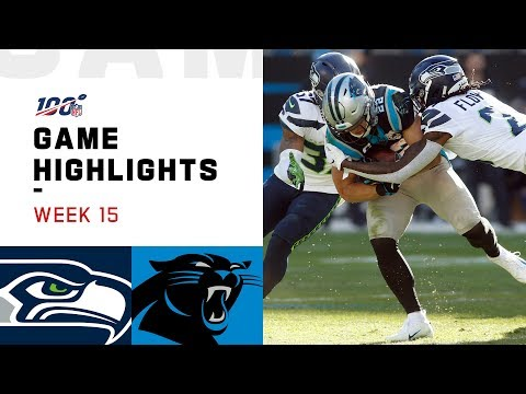 Seahawks vs. Panthers Week 15 Highlights | NFL 2019