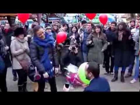Winter Wonderland Marriage Proposal Youtube
