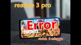 Fortnite realme 3 pro indonesia