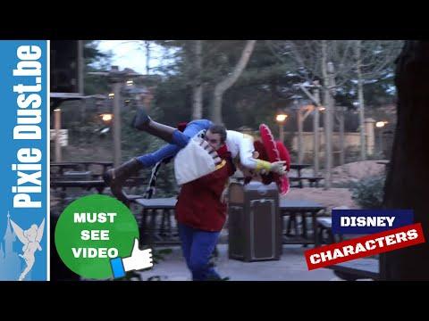 Crazy Jessie from Toy Story in Disneyland Paris