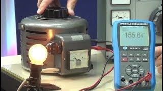 Der elektrische Schlag und Trenntrafos
