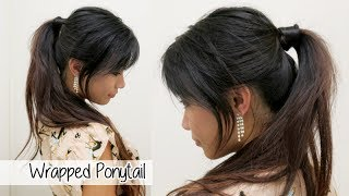 Hair Wrapped Ponytail Tutorial Without Pins l Taylor Swift Inspired