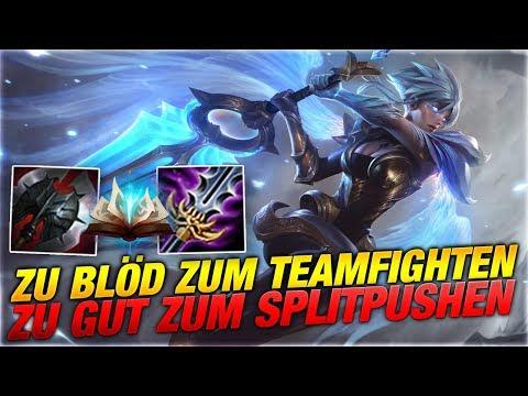 Zu blöd zum Teamfighten, Zu gut zum Splitpushen! Riven Toplane [League of Legends] thumbnail