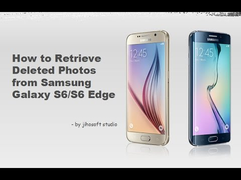 Recover Photos, Contacts, Messages on Galaxy S6/S6 Edge