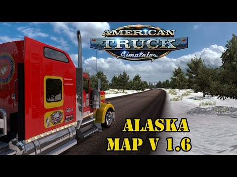 ATS Mods - Alaska Map v 1.6 Extreme Truckers
