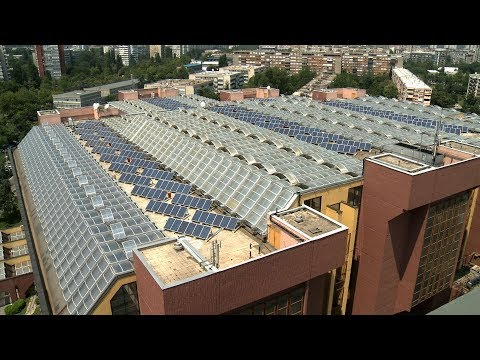 August 2017 - Solar PV Power Station on the Roof of Energoprojekt Corporate Building in Belgrade