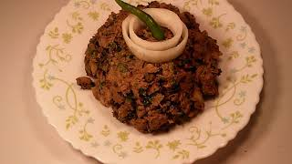 Chicken liver vorta/ kolija bhorta.