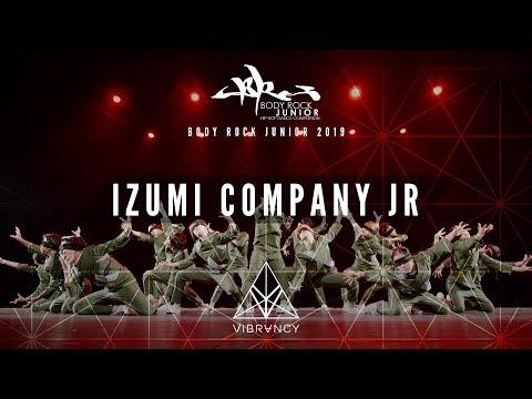 [2nd Place] Izumi Company Jr | Body Rock Jr 2019 [@VIBRVNCY Front Row 4K]
