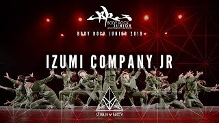 [2nd Place] Izumi Company Jr | Body Rock Jr 2019 [@VIBRVNCY Front Row 4K]