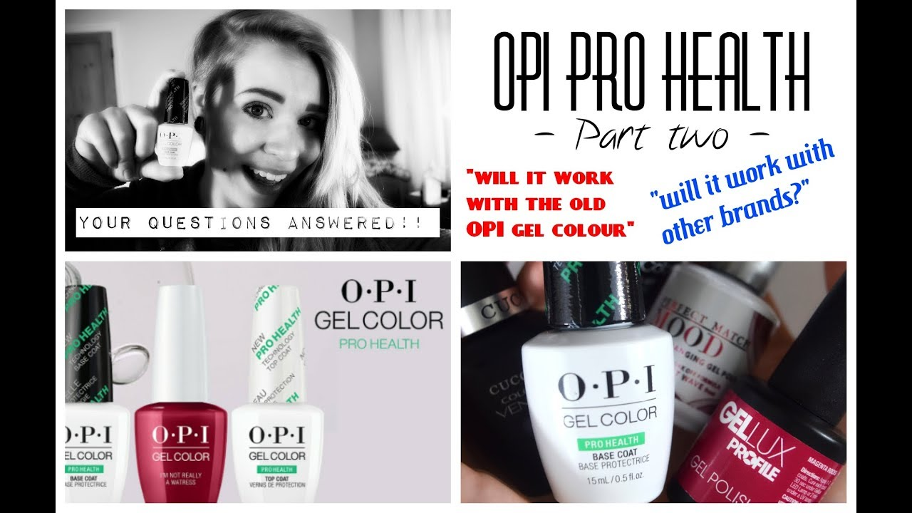 Гель-лак OPI GelColor, цвет Dutch Tulips L60 - YouTube