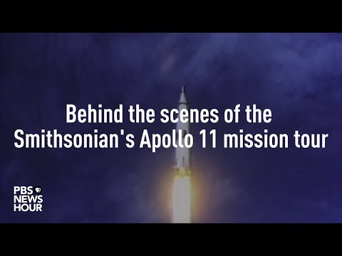 Behind the scenes of the Smithsonian's Apollo 11 mission tour