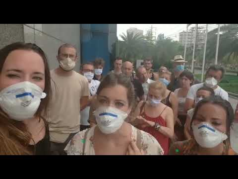"""""""Ayuda, estamos atrapados en Bangkok"""""""
