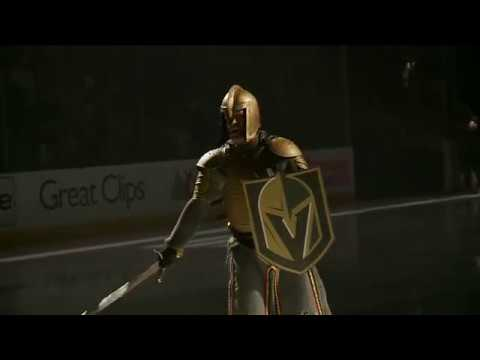 Epic Golden Knights pre-game fires up fans before Game 3