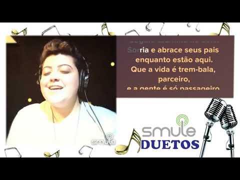 Cante com a Ana vilela - Trem Bala