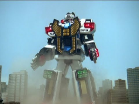 Power Rangers S.P.D. - Delta Command Megazord