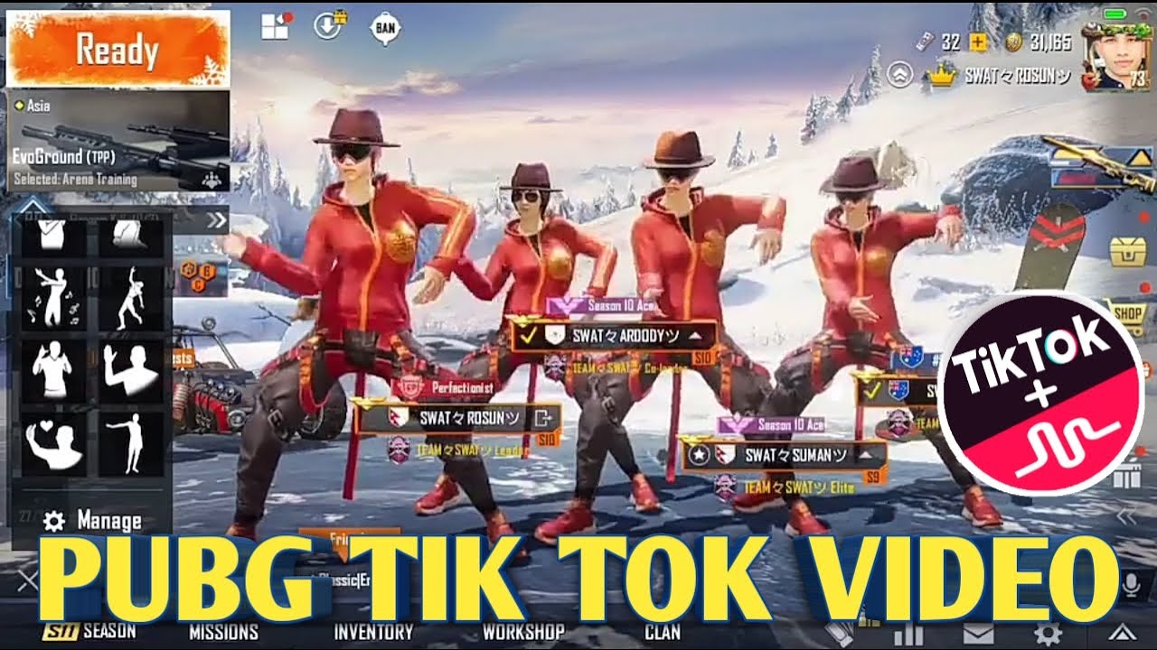 PUBG TIK TOK FUNNY MOMENTS AND FUNNY DANCE (PART 137)    BY #PUBGFUN