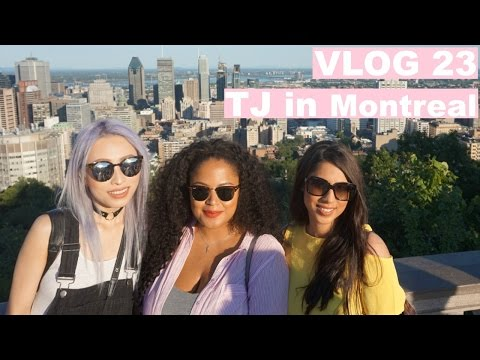 VLOG 23 - TJ in Montreal, Mont Tremblant Summer 2016 | Arzan Blogs