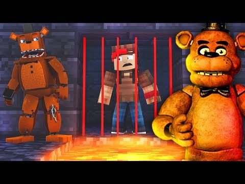 99.99% IMPOSSIBLE PRISON ESCAPE IN FNAF PRISON IN MINECRAFT TROLL + ROLEPLAY!